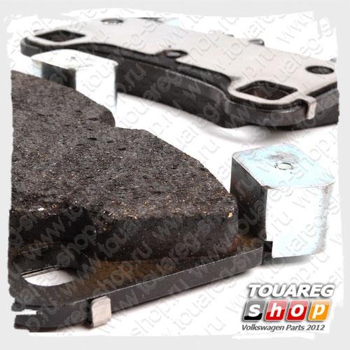 Колодки тормозные задние VAG 7L0698451F