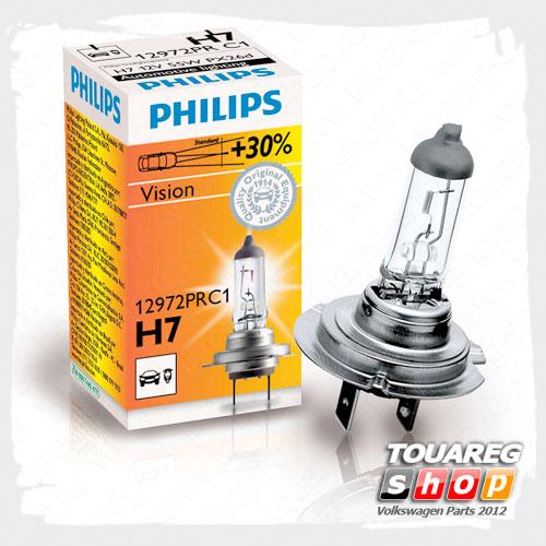 Лампа H7 12V/55W Philips Vision 12972PRC1