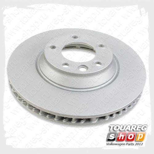 Диск тормозной передний VAG 7L8615301A