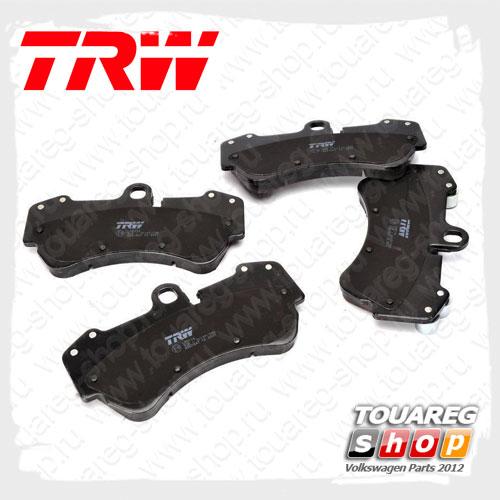 Колодки тормозные передние Trw GDB1547