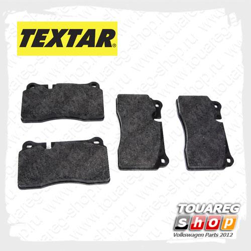 Колодки тормозные передние Textar 2409801