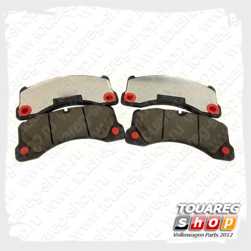 Колодки тормозные задние VAG 7P6698451C