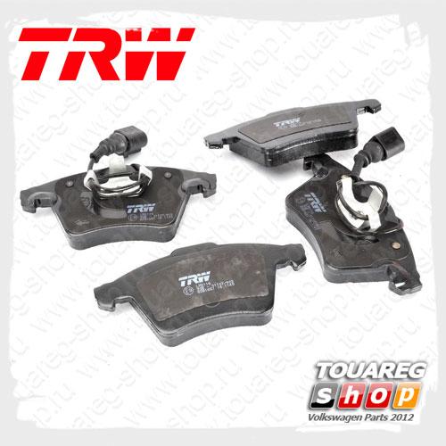 Колодки тормозные передние Trw GDB1651