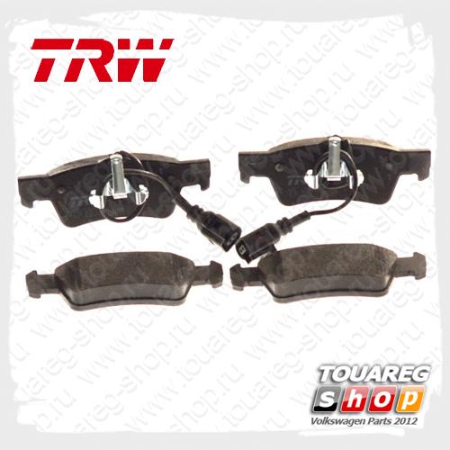 Колодки тормозные задние Trw GDB1672