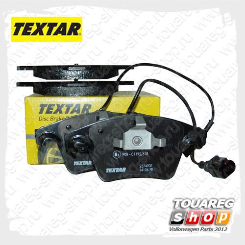 Колодки тормозные передние Textar 2374901