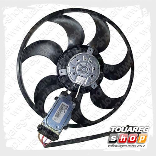 Вентилятор системы охлаждения двигателя VAG 7L0959455G