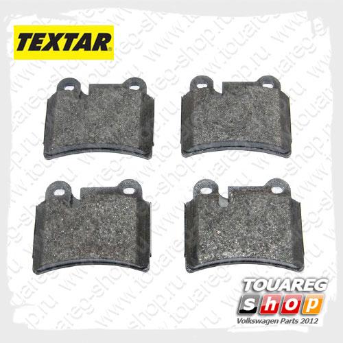 Колодки тормозные задние Textar 2409701