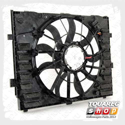 Вентилятор системы охлаждения двигателя VAG 7P0121203K