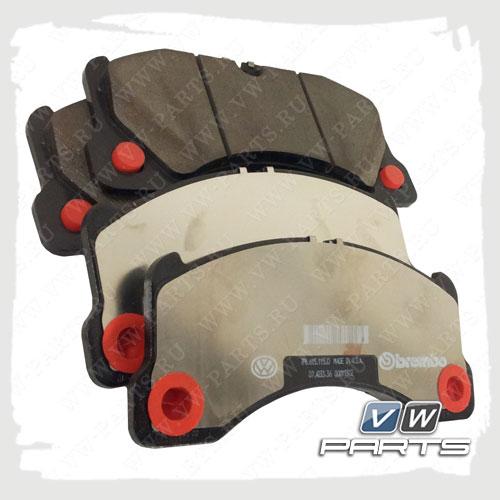 Колодки тормозные передние VAG 7L0698151N