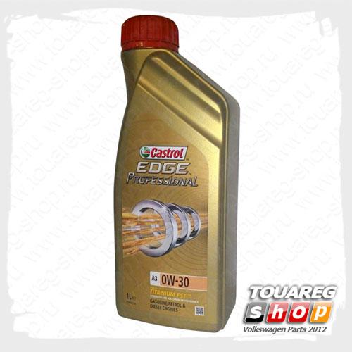 Масло моторное Castrol EDGE Professional A3 (0W30) 502.00/505.00