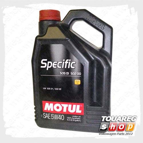 Масло моторное Motul Specific 5W40 (5л.)