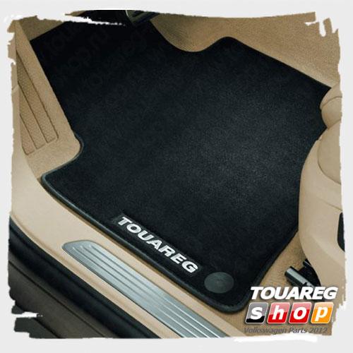 Коврики передние и задние текстильные VAG 7P1061270WGK