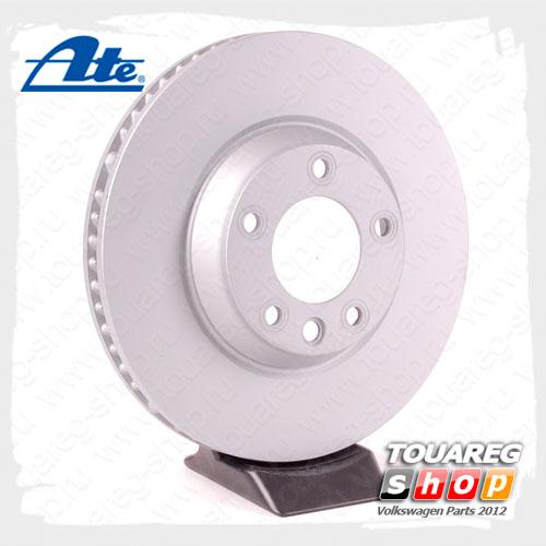 Диск тормозной передний левый Ate 24.0134-0123.1