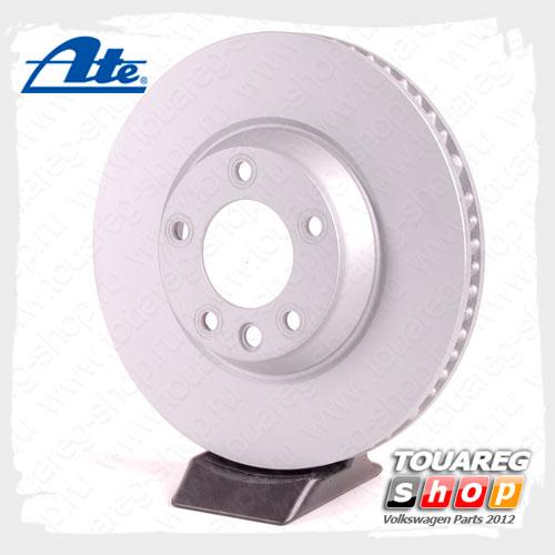 Диск тормозной передний правый Ate 24.0134-0124.1