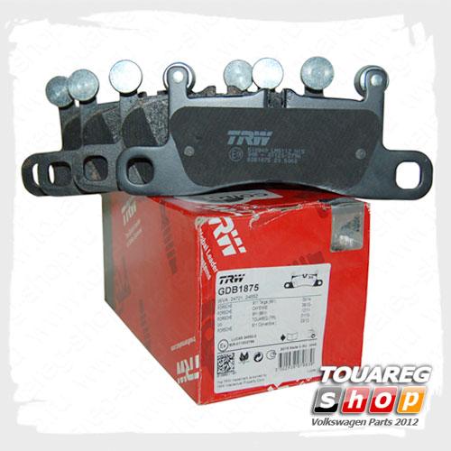 Колодки тормозные задние Trw GDB1875