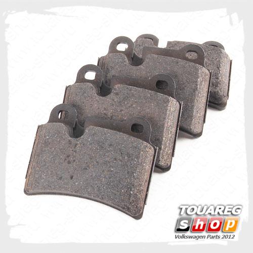 Колодки тормозные задние VAG 7L6698451B