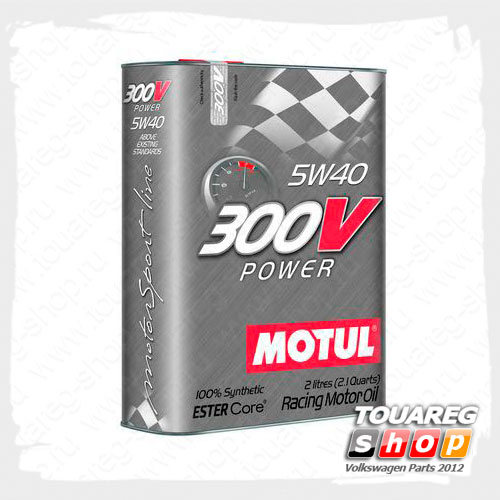 Масло моторное Motul 300 V Power 5W40 (2 л.)