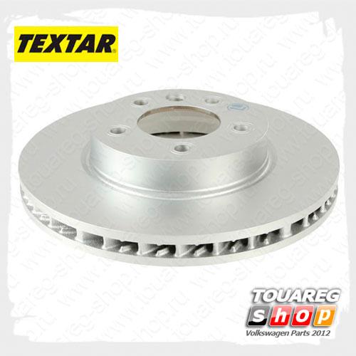 Диск тормозной передний левый Textar 92121505