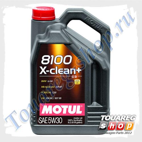 Масло моторное Motul 8100 X-Clean Plus C3 5W30 (5л.)
