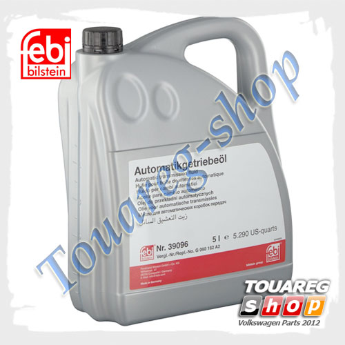 Масло трансмиссионное для АКПП ATF Febi 39096